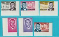 Burundi De 1963 Perfecto Estado Minr. 42-47 B Príncipe L.Rwagasore