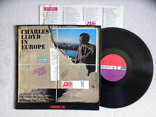 "LP CHARLES LLOYD ""In europe"" MONO ATLANTIC 1500 USA §"