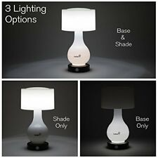 Ivation 6-LED Battery Operated Motion Sensing Table Lamp - Multi Zone Light: B