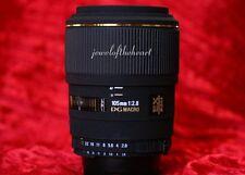 Nice Sigma 105mm 2.8 Macro AF DG Lens for Nikon D50 D70s D80 D90 D100 D300 D700