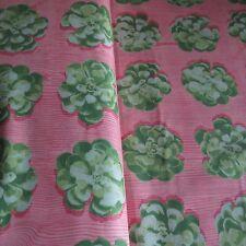 FreeSpirit Joel Dewberry SUCCULENTS 100% Cotton Fabric - £12.50 per M - Free P&P