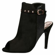 High Heel (3-4.5 in.) Stiletto Studded Boots for Women