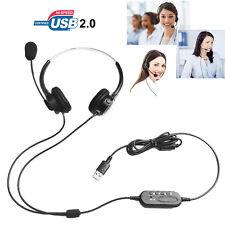 T601 Call Center Customer Service Headband Headphone Comfortable Light for Skype