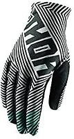 Thor Mx Youth Void Motocross MX Mtb Bike Off Road Gloves Geo Black size Large
