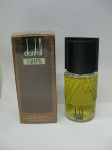 DUNHILL FOR MEN CLASSIC 3.4 oz 100 ml EDC SPRAY NEW IN BOX BROWN LONDON