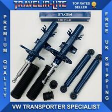 VW T5 T5.1 Meyle Front & Rear Suspension Shocks Kit Quality Transporter 03 On