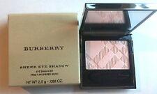Burberry Sheer Eyeshadow Silky Eye Enhancer in No.12 Pale Rose-New, Fresh, Boxed