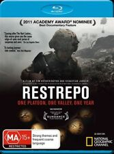 Restrepo (Blu-ray, 2011) New/Sealed - Region B Free Shipping