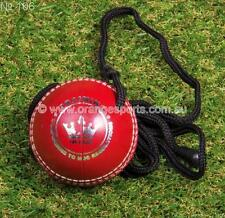 1 X Long Lasting Synthetic HANG Cricket ball (RED) BY OSA + AU STOCK