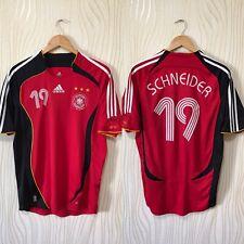 GERMANY 2006 2008 AWAY FOOTBALL SHIRT SOCCER JERSEY ADIDAS SCHNEIDER # 19