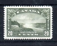 Canada 1935 20c olive green mint MH #349 WS13471