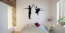 Wall Room Decor Art Vinyl Sticker Mural Decal Ballet Dance Women Ballerina FI389