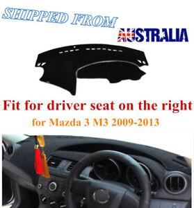 RHD Dashboard Dash Mat Dash Cover NoN-Slip For Mazda 3 M3 2009-2013