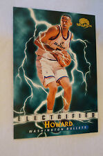 NBA CARD - Sky Box - Electrified Series - Juwan Howard - Washington Bullets