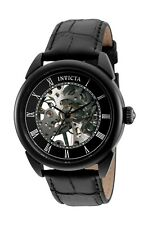 Invicta Men's Specialty 32632 42mm Black Dial Leather Watch