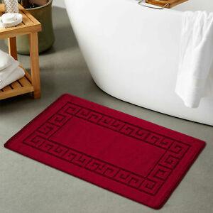 Non Slip Bath Mat Small Large Bathroom Rug Water Absorbent Toilet Carpet Mat