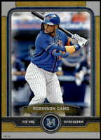 Robinson Cano 2019 Topps Museum 5x7 Gold #55 /10 Mets