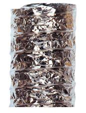 10 M Tubo, Condotto flessibile realizzato con parete in AL/PET/AL (alluminio/p.)