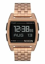 New Nixon Base Digital Watch All Rose Gold
