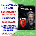 G DATA Total Security 1-3 Geräte 1 Jahr VOLLVERSION Win Mac Android iOS / GDATA <br/> 100% ORIGINAL KEY ✔ EXPRESS VERSAND ✔ RECHNUNG INK MWST