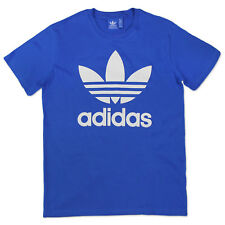 Adidas Originals Adi Trefoil tee Men's Leisure & Sports Iconic Bluebird B