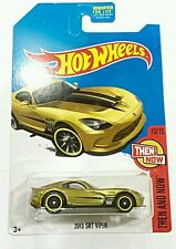 Hot Wheels Super Treasure Hunt Dodge 2017 SRT Viper GTS-R [US] Carded LIMITED 06