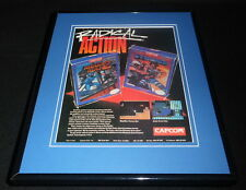Mega Man 2 Strider 1988 NES Nintendo 11x14 Framed ORIGINAL Vintage Advertisement