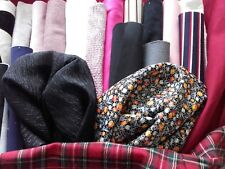 Fabric Remnant Pack - 1 kilo - lovely big pieces of material, cotton, jersey etc