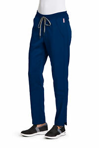 Grey's Anatomy Women's GVSP509 3-Pocket Knit Waist Scrub Pant -NEW-FREE SHIP
