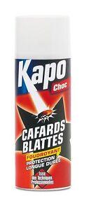 Insecticide aérosol contre blattes et cafards KAPO efficace plusieurs semaines