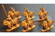 15mm Fantasy Frigian Cavalry Hand Weapon & Shield Heavily Armored Horse (16 fig)