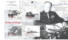 Military, War Sheet Gibraltarian Stamps