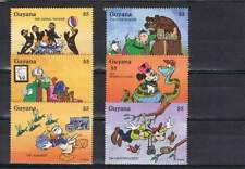 Serie Disney postfris MNH Guyana: Donald Goofy (dis076)