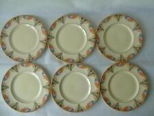 Decorative Myott Pottery Dessert Plates