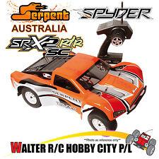 SERPENT 500005 1:10th SPYDER SRX-2 EP Short Course 2WD RTR