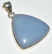 Angelite 925 Sterling Silver Pendant Jewelry JB13914