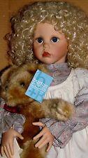 "1988 Dianna Effner Hilary Vinyl Doll Ultimate Collection Original Box LARGE 25"""