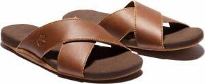 Timberland Seaton Bay Strap Sandal Rust Leather New Size UK 8.5 RRP £65