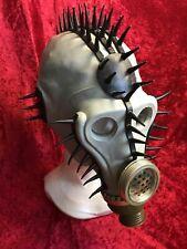 Hellraiser Rubber Mask Gummi Stachel Gasmaske Bondage Paddel Devot Sklave Gay SM