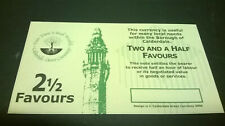 More details for 2 1/2 favour calderdale local currency banknote - uncirculated, no serial number