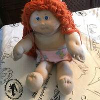 Vintage Cabbage Patch DOLL 1978-1982 RED HAIR Blue Eyes
