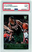 GIANNIS ANTETOKOUNMPO 2013-14 Panini Rookie Card RC #194 PSA 9 Mint Bucks