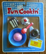 Moose Mountain Sweet Stuff Toy Fun Cooking With Food Donut Cake Ice Cream Cherry
