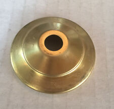 "2"" SOLID BRASS VASE CAP NEW LAMP PART UNFINISHED BRASS"