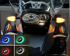 BMW R1200GS Adventure bis Modell 2013 Zweifarbige LED Emblemblinker : Blau/Gelb