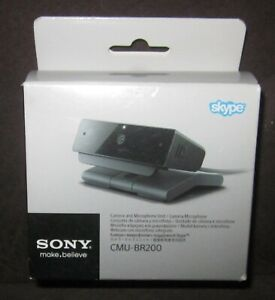 Genuine SONY CMU-BR200 Skype Camera with Microphone BRAND NEW IN BOX webcam
