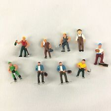 Lot of Ho 1:87 Construction Workers / People