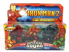 Marvel Super Hero Squad-Iron Man 2 Armor Wars Part II Action Figure Set
