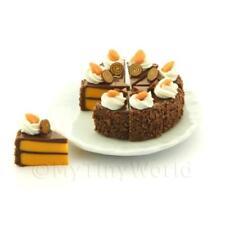 Miniature Whole Sliced Chocolate Toffee Cake