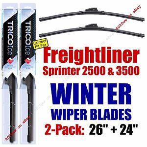 WINTER Wipers 2pk fit 2007-2016 Freightliner Sprinter 2500 3500 - 35260/240